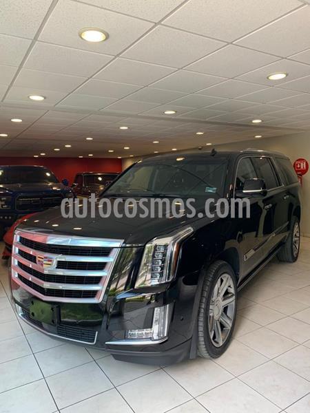 Cadillac Escalade ESV Premium 8 Pasajeros usado (2017) color Negro precio $990,000