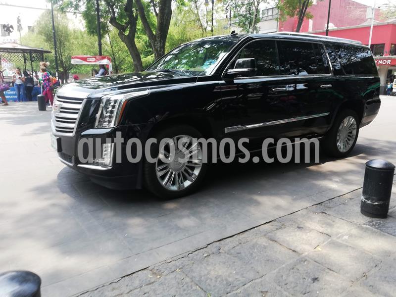 Cadillac Escalade ESV Paq P Platinum  usado (2018) color Negro precio $999,000