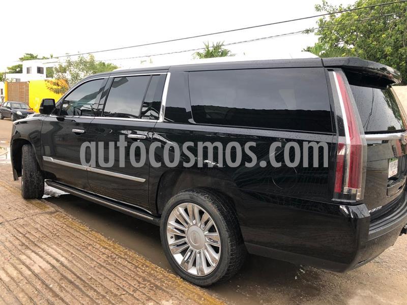 Cadillac Escalade ESV Premium usado (2016) color Negro precio $895,000