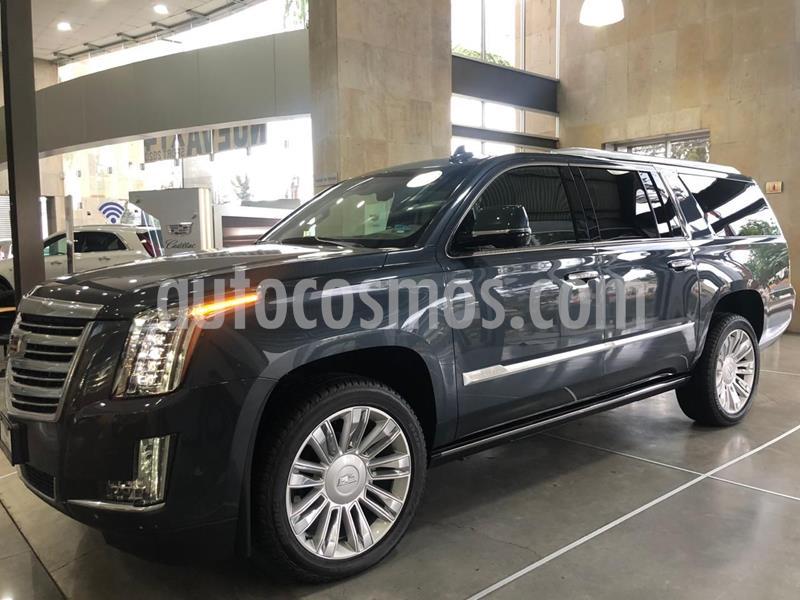 Cadillac Escalade ESV Platinum usado (2019) color Azul Petroleo precio $1,485,000