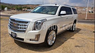 Foto venta Auto usado Cadillac Escalade ESV Paq P Platinum  (2017) color Blanco precio $1,199,000