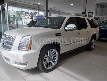 Foto venta Auto usado Cadillac Escalade ESV Paq P Platinum  (2014) color Blanco precio $475,000