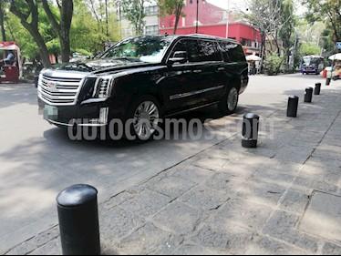 Cadillac Escalade ESV Platinum 8 Pasajeros usado (2018) color Negro precio $1,499,000
