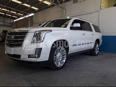 Foto venta Auto usado Cadillac Escalade 4x4 Platinum  (2019) color Blanco precio $1,499,000