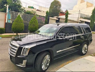 Foto venta Auto usado Cadillac Escalade 4x4 Platinum  (2015) color Negro precio $850,000