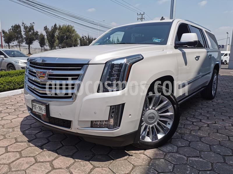 Foto Cadillac Escalade SUV Platinum usado (2019) color Blanco Diamante precio $950,000