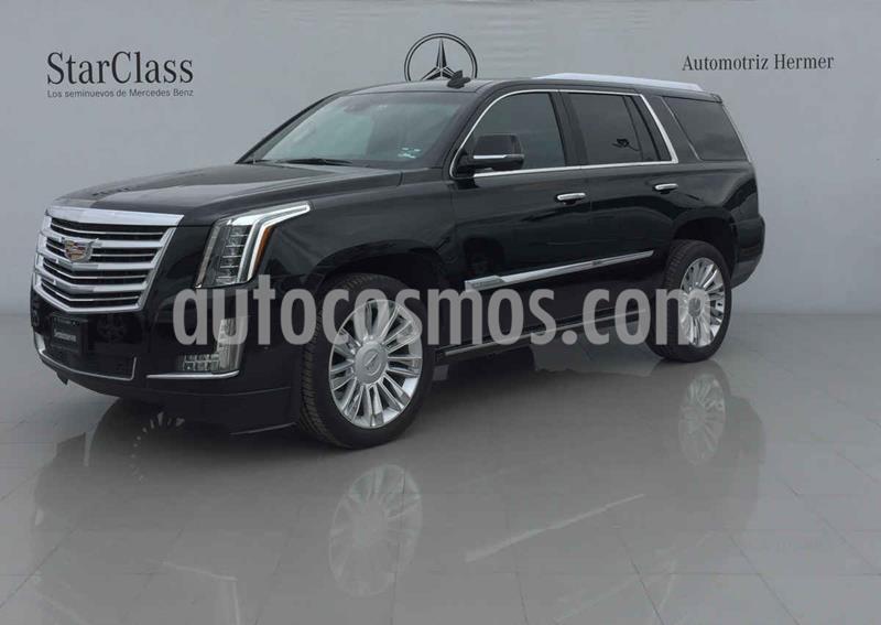 Cadillac Escalade Paq P 4x4 Platinum usado (2018) color Negro precio $1,049,900