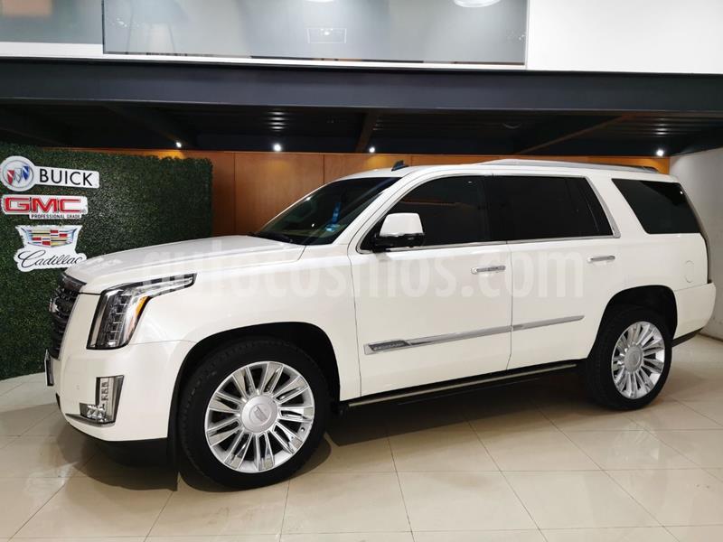 Cadillac Escalade Paq P 4x4 Platinum usado (2015) color Blanco precio $699,000