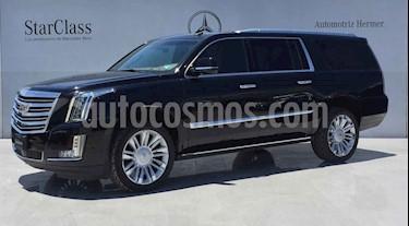 Cadillac Escalade 5p Platinum P V8/6.2 Aut usado (2017) color Negro precio $989,900