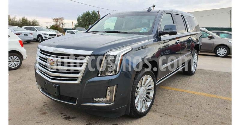Cadillac Escalade Paq P 4x4 Platinum usado (2019) color Gris precio $1,098,000