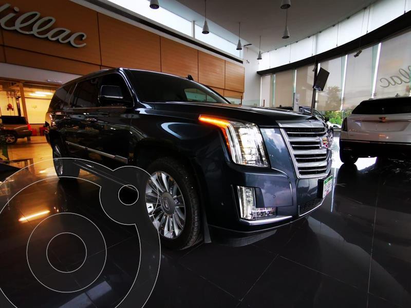 Cadillac Escalade Paq P 4x4 Platinum usado (2019) color Azul Marino precio $1,190,000
