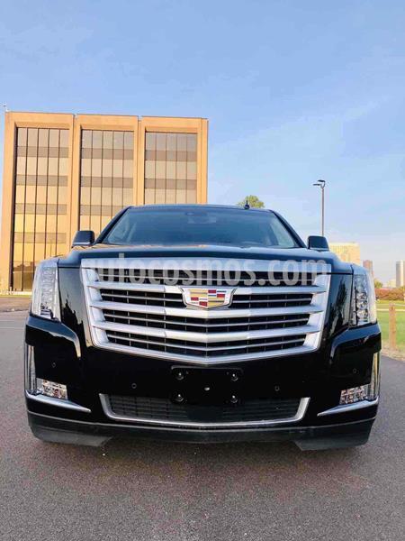 Cadillac Escalade 4x4 Platinum  usado (2016) color Negro precio $740,000