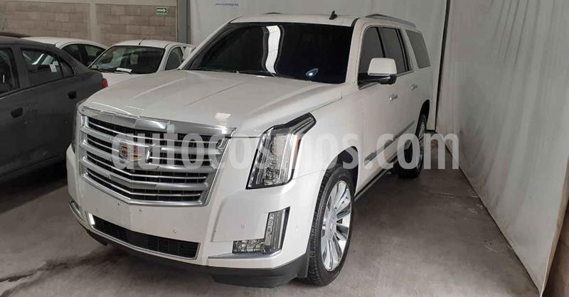 Cadillac Escalade 4x4 Platinum  usado (2017) color Blanco precio $739,900