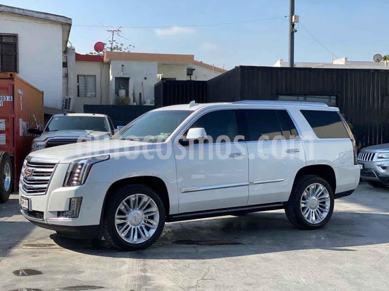Cadillac Escalade 4x4 Platinum  usado (2019) color Blanco precio $1,349,800