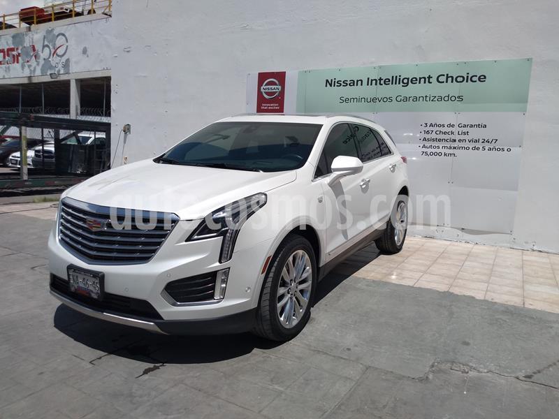 Cadillac XT5 Platinum usado (2017) color Blanco Platinado precio $459,000