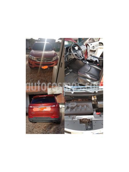 Chery Grand Tiggo 2.0L GLS CVT usado (2016) color Rojo precio BoF20.085.000