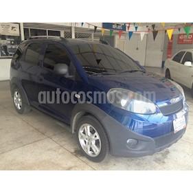 Foto venta carro usado Chery X1 1.3L (2014) color Azul precio BoF2.900