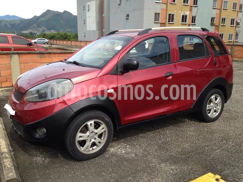 Chery X1 1.3L usado (2012) color Rojo precio u$s2.800
