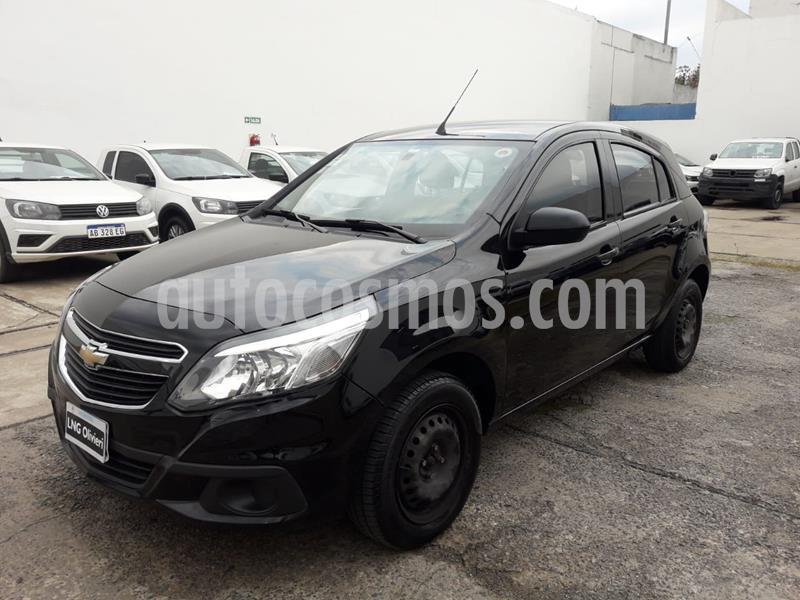Chevrolet Agile LS usado (2014) color Negro precio $490.000
