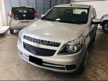 Chevrolet Agile LT Spirit usado (2013) color Plata Polaris precio $329.000
