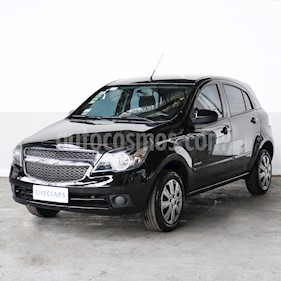 Chevrolet Agile LT Spirit  usado (2012) color Negro precio $495.000