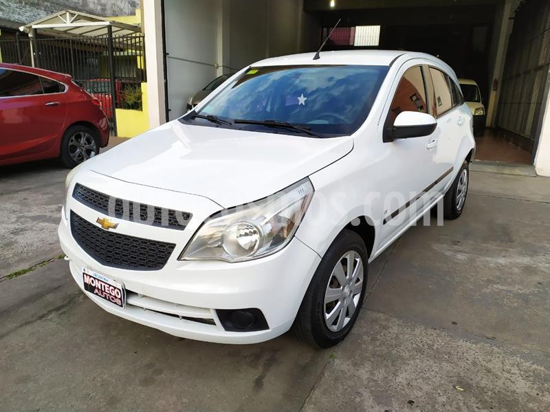 Chevrolet Agile LT usado (2011) color Blanco Mahler precio $590.000