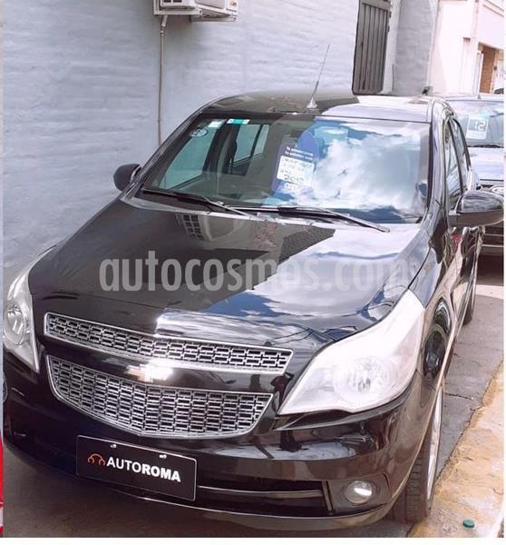 Chevrolet Agile LTZ usado (2012) color Negro precio $670.000