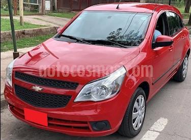 Chevrolet Agile LT usado (2011) color Rojo precio $450.000