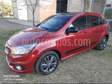 Chevrolet Agile LTZ Spirit  usado (2014) color Rojo precio $600.000