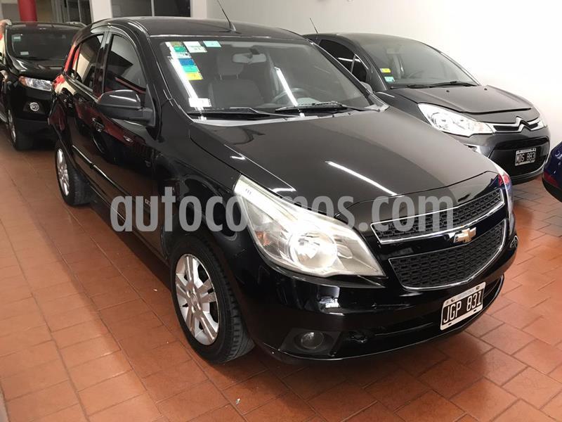 Chevrolet Agile LTZ usado (2010) color Negro Liszt precio $595.000