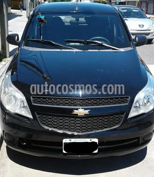 Chevrolet Agile LT usado (2011) color Negro precio $335.000