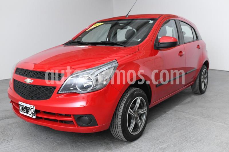 Chevrolet Agile LT Spirit Plus usado (2013) color Rojo precio $475.000