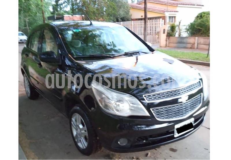 Chevrolet Agile LTZ usado (2012) color Negro precio $630.000