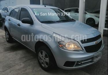 Chevrolet Agile LS usado (2010) color Plata Polaris precio $319.900