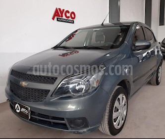 Chevrolet Agile LT usado (2013) color Gris