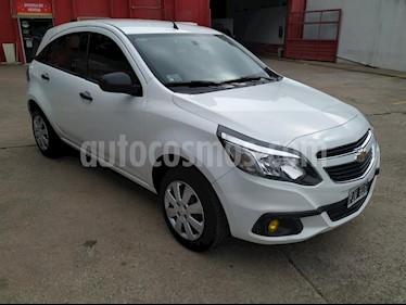 Chevrolet Agile LS usado (2015) color Blanco precio $370.000