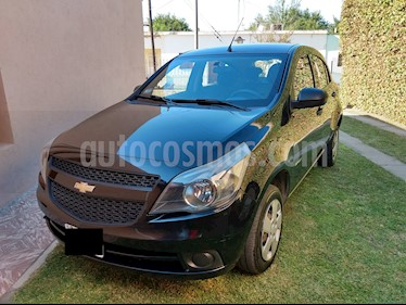 Chevrolet Agile LS Spirit usado (2013) color Negro precio $350.000