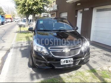Chevrolet Agile LS usado (2014) color Negro Liszt precio $310.000