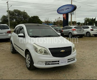 Foto venta Auto usado Chevrolet Agile LT (2010) color Blanco