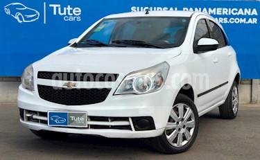 Chevrolet Agile LT usado (2011) color Blanco Mahler precio $245.000
