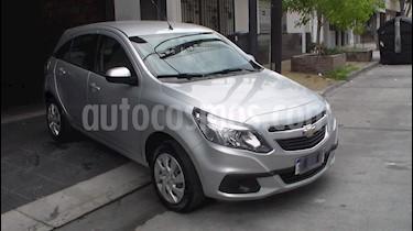 Foto venta Auto usado Chevrolet Agile LT (2016) color Plata precio $289.900