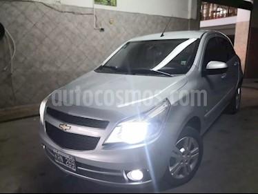 Foto venta Auto usado Chevrolet Agile LTZ (2012) color Plata Polaris precio $190.000