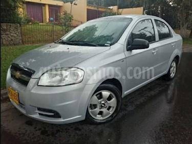 Foto venta Carro usado Chevrolet Aveo Emotion 4P 1.6L Ac (2011) color Plata Escuna precio $21.900.000