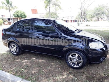 Chevrolet Aveo Emotion 4P 1.6L Full usado (2010) color Negro precio $20.900.000