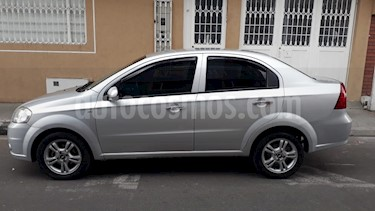 Chevrolet Aveo Emotion 4P 1.6L Full usado (2011) color Plata precio $20.500.000