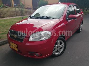 Foto venta Carro usado Chevrolet Aveo Emotion 4P 1.6L Full (2011) color Rojo precio $22.900.000