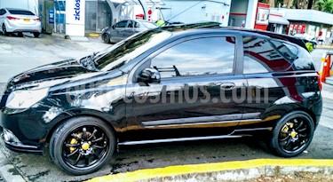 Chevrolet Aveo Emotion 4P 1.6L usado (2011) color Negro precio $20.900.000