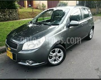 Foto venta Carro usado Chevrolet Aveo Emotion 5P 1.6L Ac (2011) color Gris precio $20.900.000