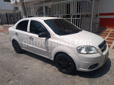 Chevrolet Aveo Emotion 5P 1.6L Ac usado (2008) color Blanco precio $115.600.000