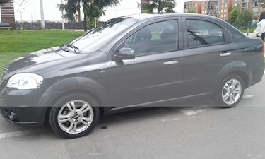 Chevrolet Aveo Emotion 5P 1.6L Full usado (2011) color Gris precio $23.000.000